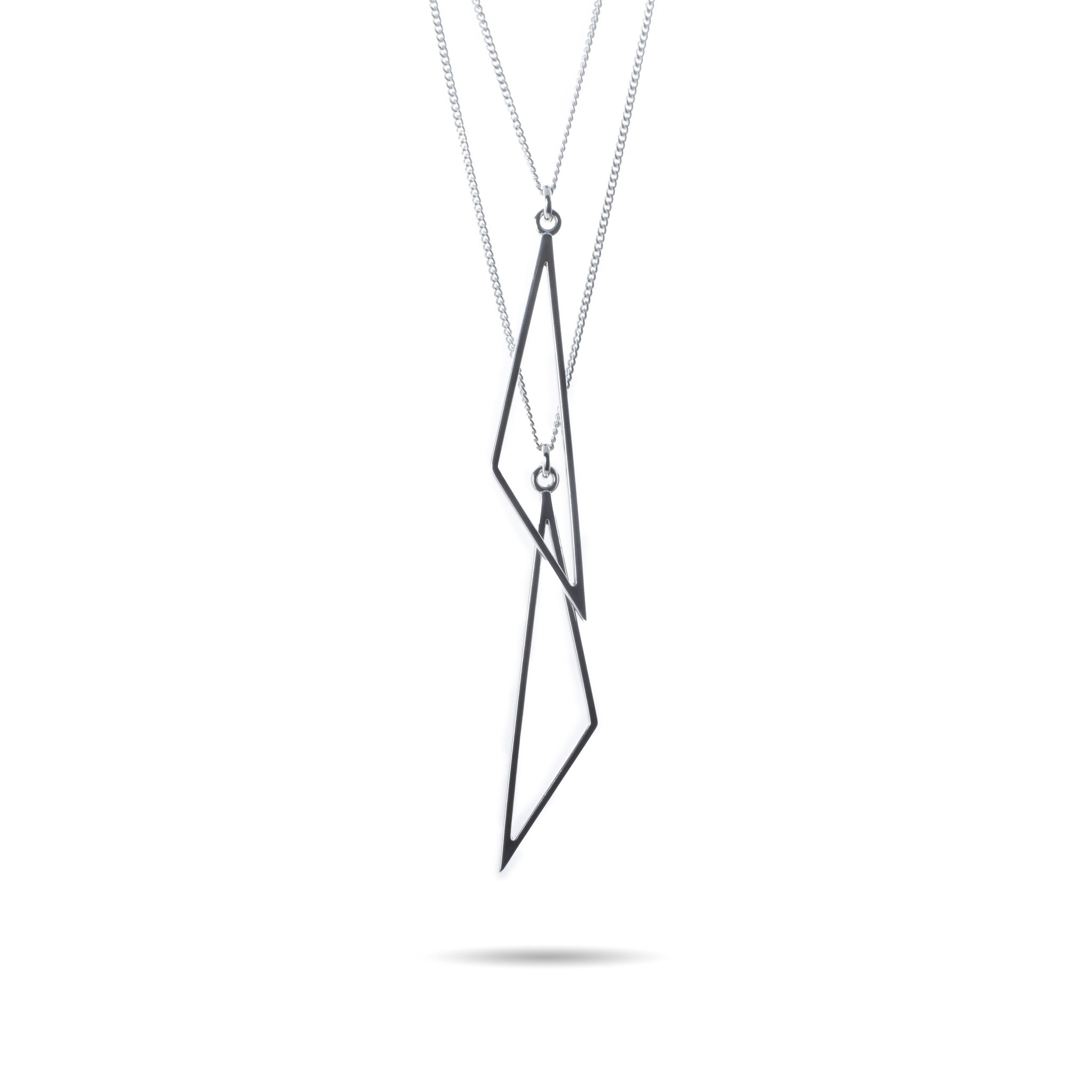 Multiway Triangle Necklace