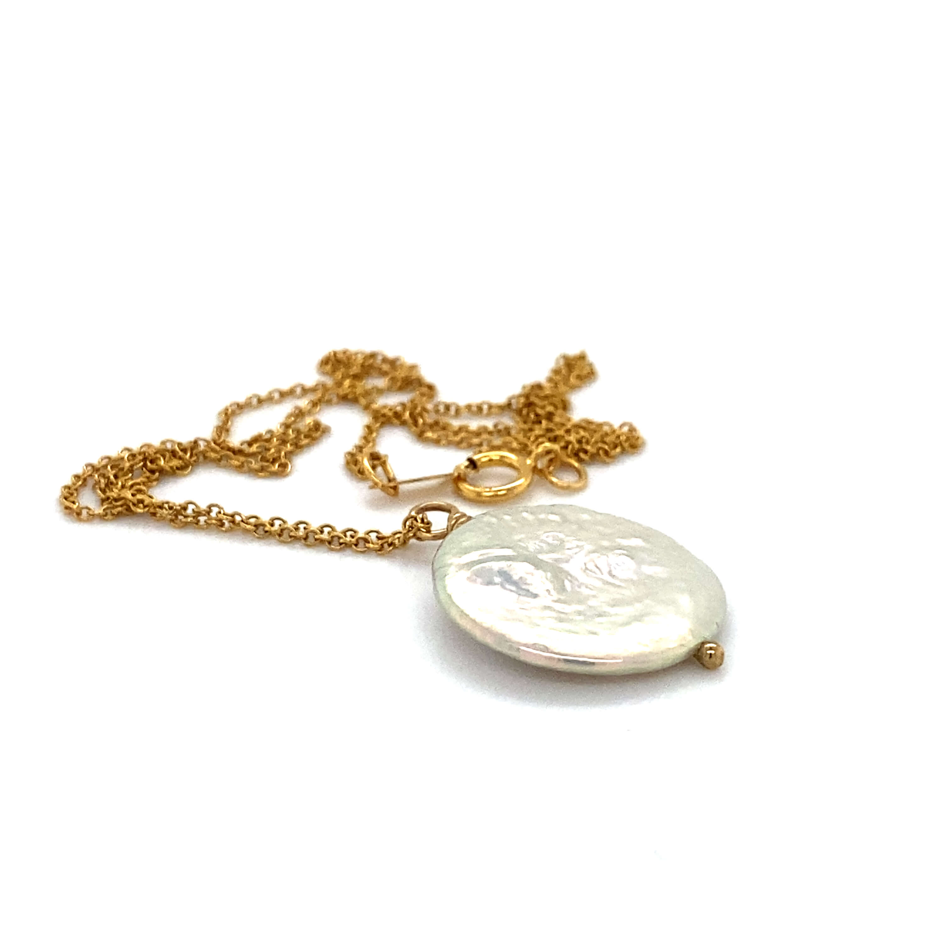 Aisha Necklace - Gold Fill with Pearl
